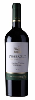 Perez Cruz Carmenere Limited Edition 2016