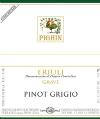 Pighin Pinot Grigio Friuli 2017