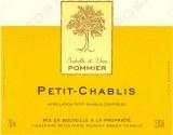 Isabelle & Denis Pommier Petit Chablis 2016