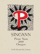 Sineann Pinot Noir Oregon 2009