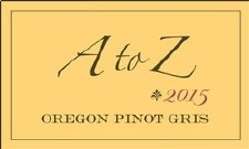 A to Z Oregon Pinot Gris 2015