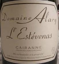 Domaine Alary Cairanne L'Estevenas 2016