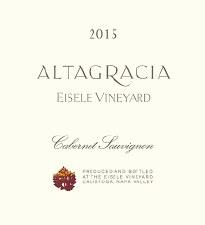 Eisele Vineyard Altagracia Cabernet Sauvignon 2015