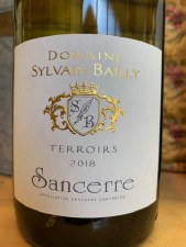 Bailly Sancerre Terroirs 2018