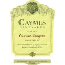 Caymus Cabernet Sauvignon 2017