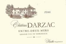 Chateau Darzac Entre-Deux-Mers 2016