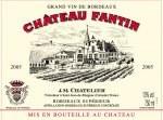 Chateau Fantin Bordeaux Superieur 2011
