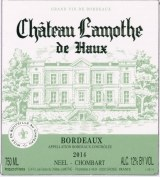 Chateau Lamothe de Haux Bordeaux Blanc 2018 375ml