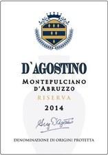 D'Agostino Montepulciano d'Abruzzo Riserva 2014