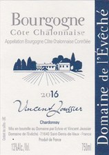 Domaine de l'Eveche Bourgogne Cote Chalonnaise Blanc 2017