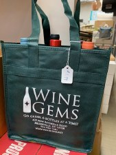 Go Green 6-Btl Reusable Wine Bag