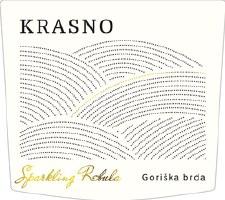 Krasno Sparkling Rebula 2017