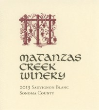 Matanzas Creek Sauvignon Blanc 2014 375ml