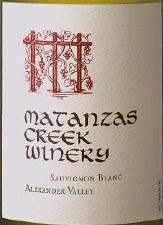 Matanzas Creek Sauvignon Blanc Alexander Valley 2016