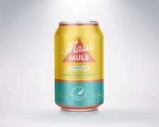 Maui Mule Cocktail 12 oz Can 4pk