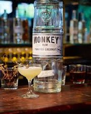 Monkey Rum Toasted Coconut 50ml