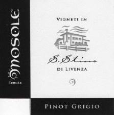 Mosole Pinot Grigio 2016