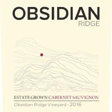 Obsidian Ridge Cabernet Sauvignon 2017