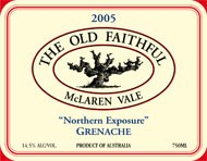 Old Faithful Grenache 2005