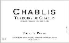 Patrick Piuze Chablis Terroir de Chablis 2018