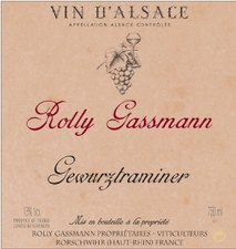 Rolly Gassmann Gewurztraminer 2015
