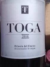 Toga Ribera del Duero 2010