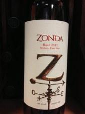 Zonda Rosé Malbec-Pinot Noir 2011