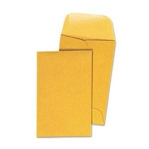 Kraft Coin Envelopes #7