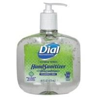Dial Antibacterial Gel Hand Sanitizer 16oz (8)