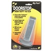 Doorstop Big Foot Gray