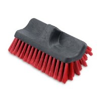 """Vechicle Brush 10""""RED DualSide"""