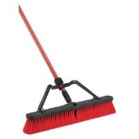 "Push Broom 24"" HD Red/Black"