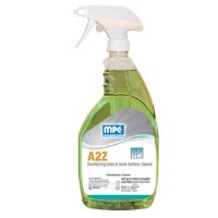 A2Z Disinfecting Multi Surface Cleaner Lemon 32oz (12)