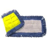 Dust Mop Mircofiber 18 BL/GY/Y