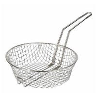 "Fryer Basket 10"" Round Coarse"