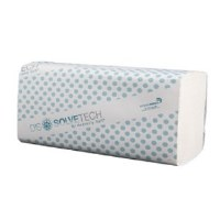 White M/F Dissolvetech Towels