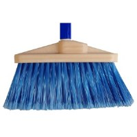 "Duo Broom 4"" Blue w/Handle"