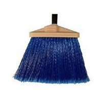 "Duo Broom 7"" Blue w/Handle"