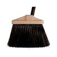 "Duo Broom 5"" Black w/Handle"