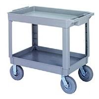 Utility Cart Gray 2 Tier