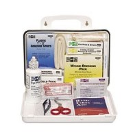ANSI Plus #25 Weatherproof First Aid Kit w/Plastic Case
