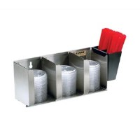 Cup Lid Organizer Stainless