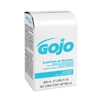 Gojo Lather & Kleen Body/Hair Shampoo 800mL (12)