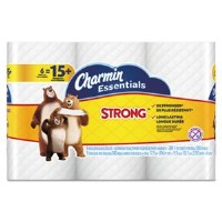 Charmin Essentials Strong Bath Tissue 1-Ply (6/8)