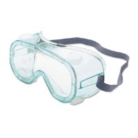 A610S Green Tint Safety Goggles