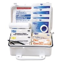 ANSI #10 Weatherproof First Aid Kit w/Plastic Case