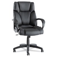 Alera Fraze Series High-Back Leather Swivel Chair