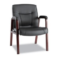 Alera Madaris Series Leather Guest Chair