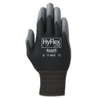 HyFlex Work Gloves #9 (12) Blk