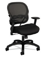 basyx VL712 Series Mid-Back Mesh Work Chair